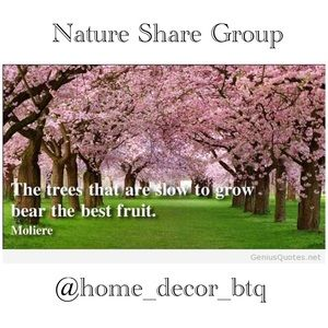 Sign Up Open Tuesday Nature Share Group